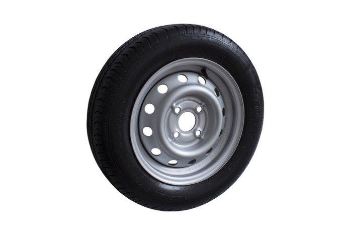 13 Zoll Komplettrad Reifengröße 155 R13 Felge 4.5 J x 13  4 Loch für PKW An ...