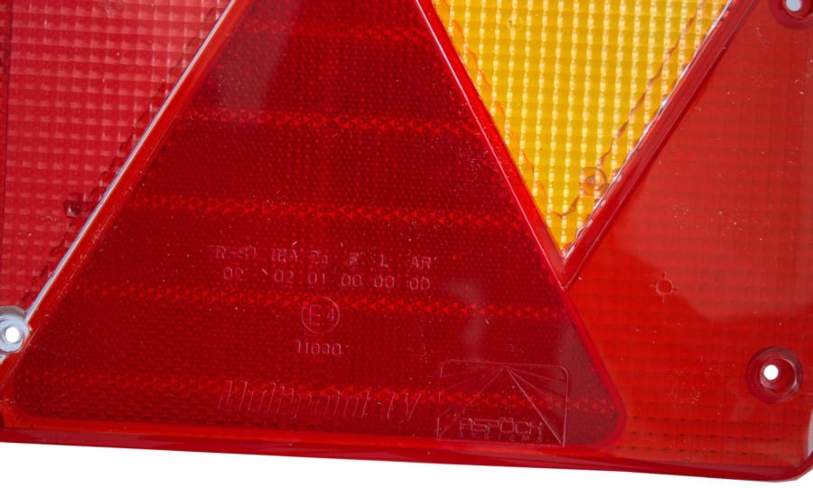 Multipoint 1 Rückleuchte Ersatzglas  rechts Aspöck