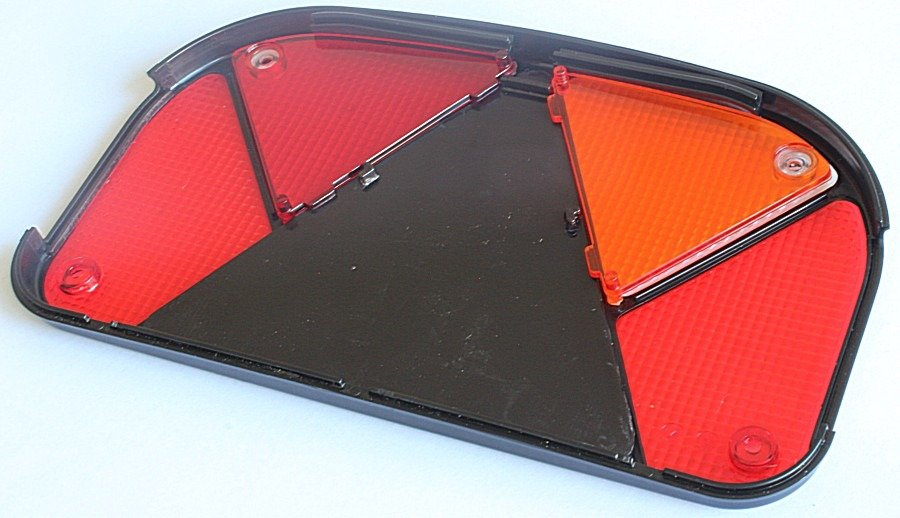 Aspöck Lichtscheibe Multipoint 1 links Ersatzglas für Rückleuchte PKW Anhänger