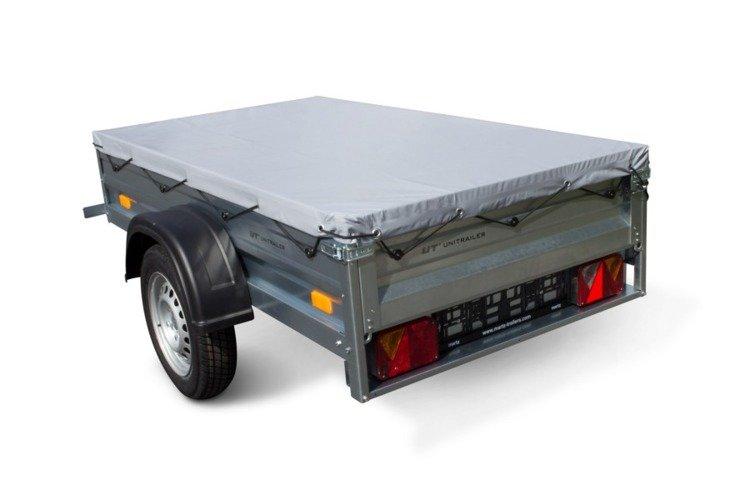 flachplane 200x106 garden trailer f r pkw anh nger. Black Bedroom Furniture Sets. Home Design Ideas