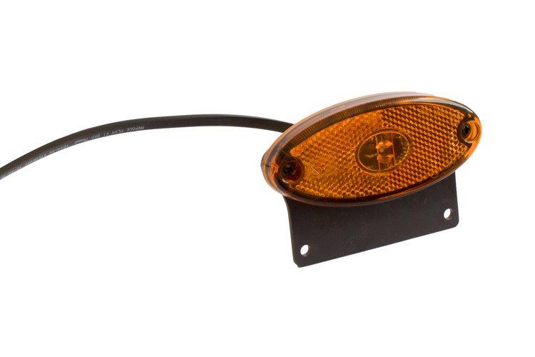 Seitenmarkierungsleuchte Flatpoint II LED mit Halter für Pkw ...