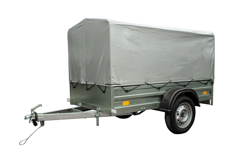 Tieflader Garden Trailer 200 mit Hochspriegel und Hochplane, 200x106 ...