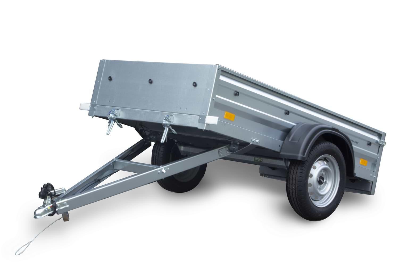 tieflader gardentrailer 200 mit flachplane 200x106 zul. Black Bedroom Furniture Sets. Home Design Ideas